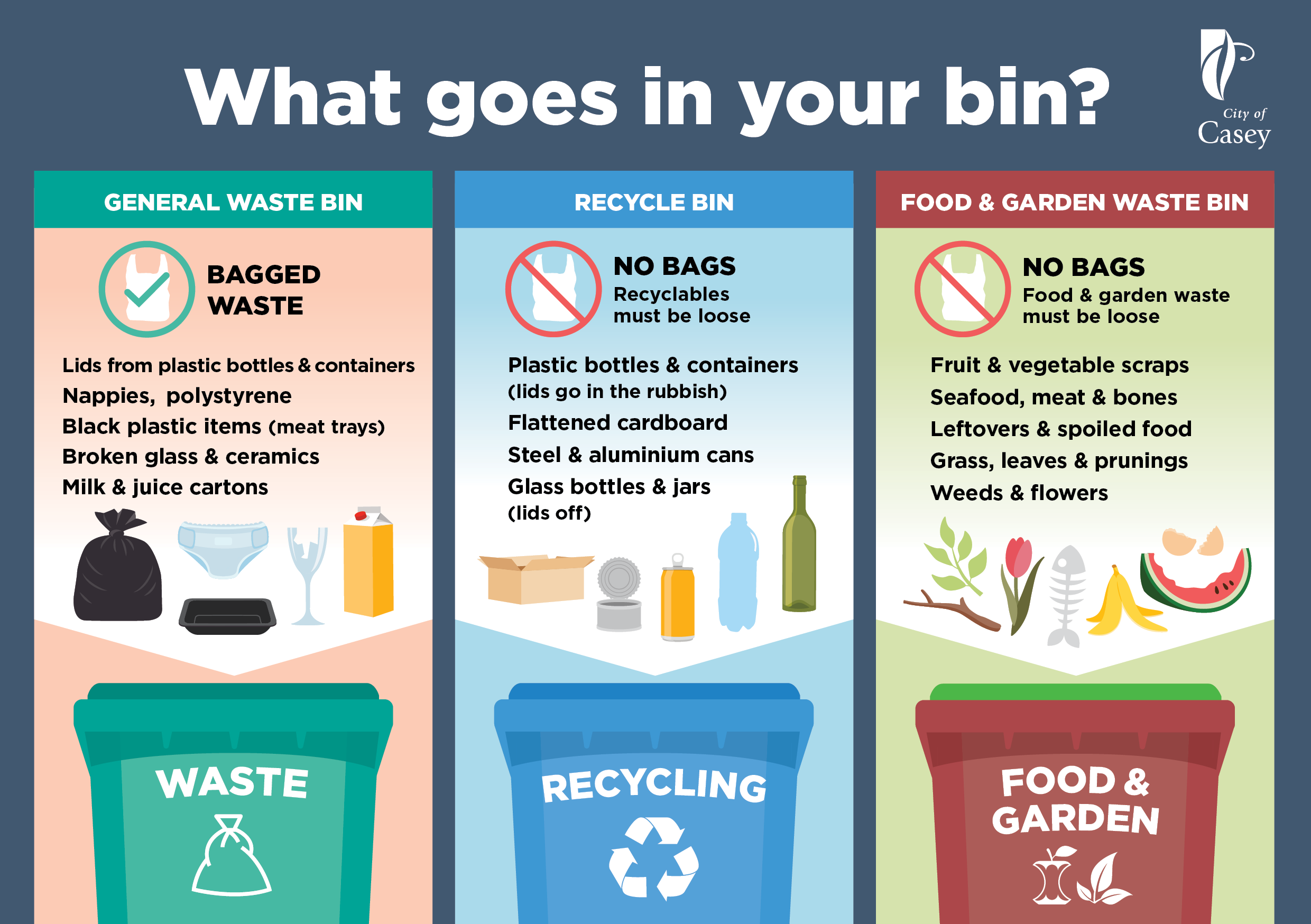 What goes in your bin
